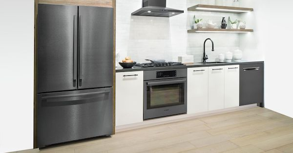 Bosch Black Stainless Steel Kitchen Suite