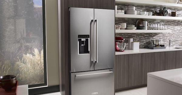 Dual Evaporator Refrigerator - KitchenAid KRFC704FSS Lifestyle Image