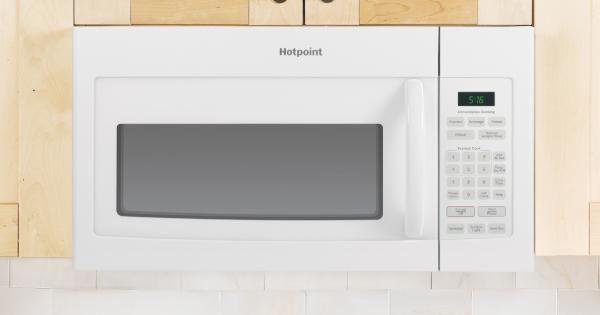 Hotpoint Microwave -Hotpoint RVM5160DHWW OTR Microwave
