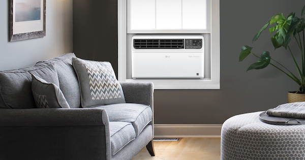 10,000 BTU Window Air Conditioner - LG LW1019IVSM Lifestyle