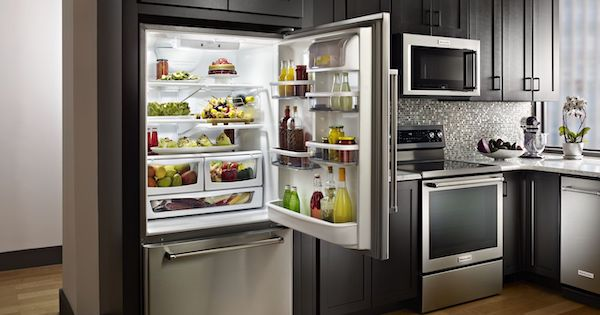 Best Bottom Freezer Refrigerator - KitchenAid KRBR109ESS