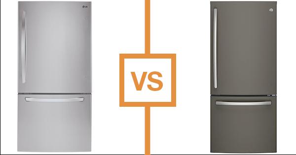 Best Bottom Freezer Refrigerator - LG vs GE