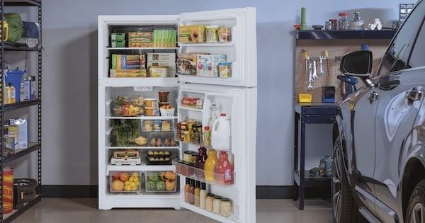 Above the Fold Image Best Garage Refrigerator - GE Lifestyle