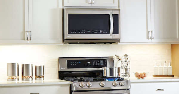 Best OTR Microwave - LG Lifestyle Image