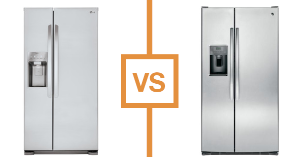 Best Side by Side Refrigerator - LG vs GE