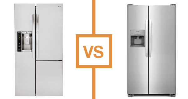 Best Side by Side Refrigerators - LG vs Frigidaire