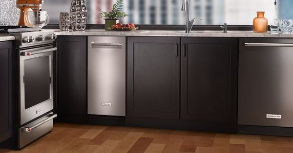 Above the Fold Image Best Trash Compactor - KitchenAid Lifestyle Image