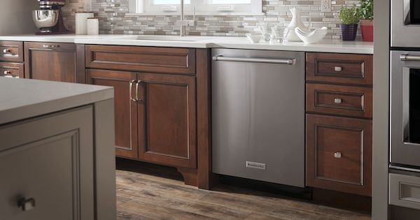 Typical Dishwasher Dimensions_KitchenAid KDPE334GBS Dishwasher