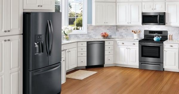 Frigidaire Black Stainless Steel Appliances