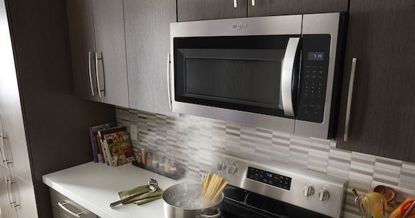 Frigidaire vs Whirlpool Over the Range Microwaves - Whirlpool Lifestyle Image