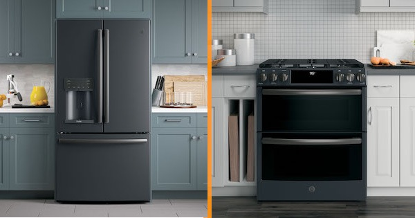 GE Black Slate Appliances