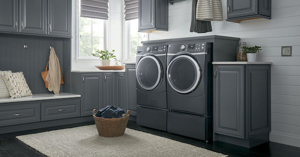 Gas Dryer vs Electric Dryer_GE Appliances GFD45GSPKDG Gas Dryer