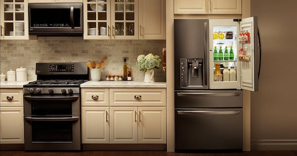 LG Black Stainless Steel Kitchen - Appliance Packages