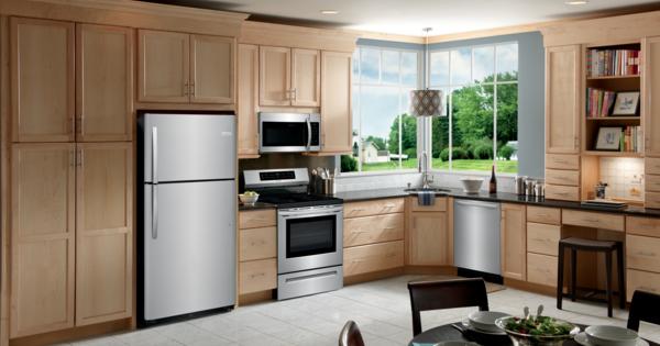 Largest Top Freezer Refrigerator - Frigidaire Lifestyle Image