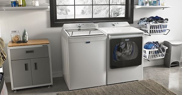 Largest Top Load Washer - Maytag Lifestyle Image