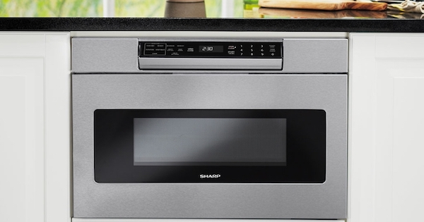 Microwave Drawers - Sharp SMD2470AS Lifestyle Image