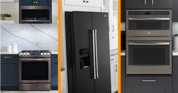 New Appliance Color Reviews - Black Stainless, Matte, Slate