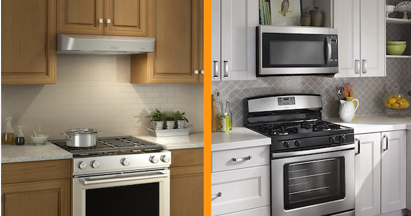 Above the Fold Image OTR Microwave vs Range Hood