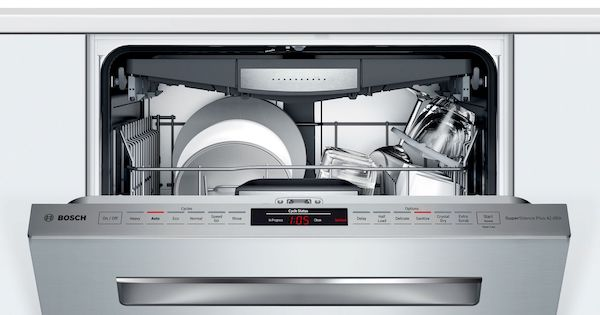 Quietest Dishwasher on the Market - Bosch Control Panel