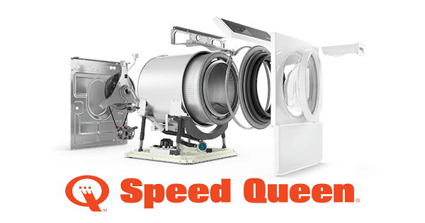 Above the Fold Image Speed Queen Front Load Washer