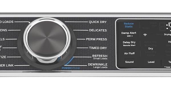 Steam Dryer_GE Appliances GFD48ESPKDG