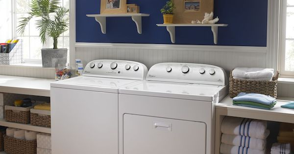 Top Load Washer Reviews Maytag vs Whirlpool - Whirlpool WTW5000DW Lifestyle Image