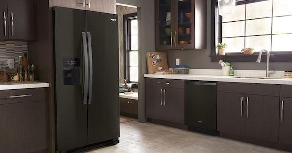 Whirlpool Black Stainless Steel Appliances_Whirlpool WRS321SDHV