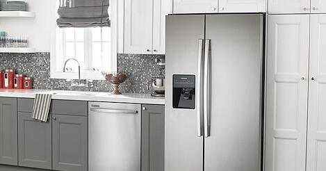 Above the Fold Image for Amana Side by Side Refrigerator Reviews 03.29.18
