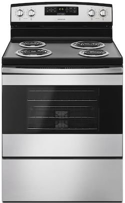 Amana ACR4303MFS Electric Range Coil Top