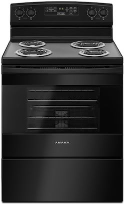 Amana ACR4503SFB Electric Range Coil Top