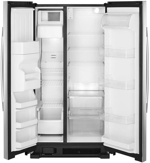 Amana Side by Side Refrigerator Interior