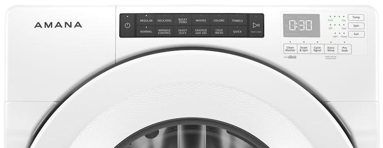 AmanaNFW5800HW Control Panel