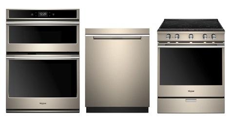 Whirlpool Sunset Bronze Appliances