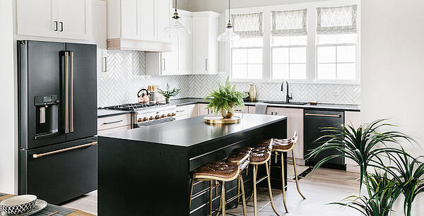 GE Black Slate Kitchen Shot