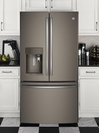 Slate vs Stainless Steel_GE Profile Slate Refrigerator PYE22PMKES.jpg