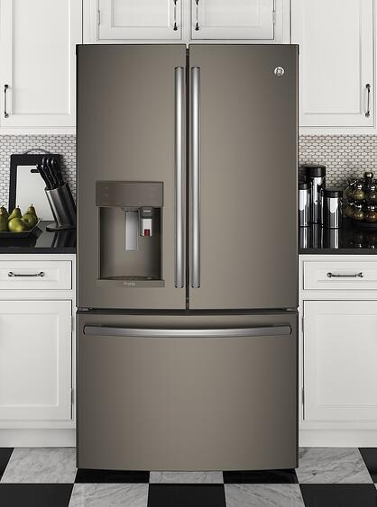 Ge Profile Slate Refrigerator Pye22pmkes Jpg