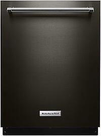 New Appliance Color Reviews - KitchenAid Black Stainless Steel Dishwasher