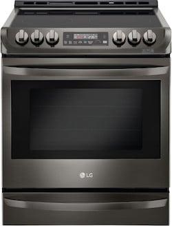 New Appliance Colors - LG Black Stainless Steel Range
