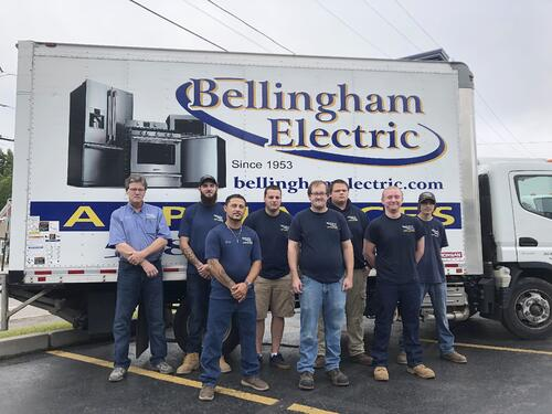 Bellingham Electric Delivery Team Group Photo 1