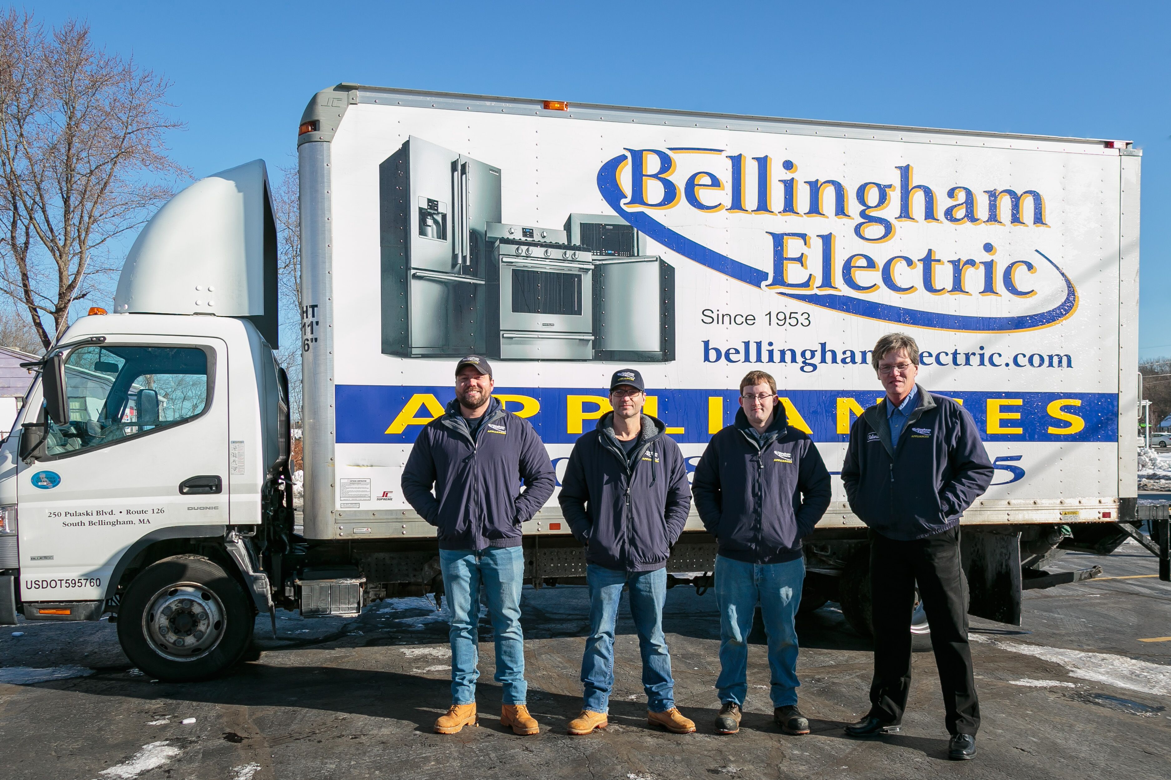 Bellingham Electric Delivery Team