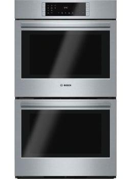 Best Double Wall Ovens  Bosch HBL8651UC