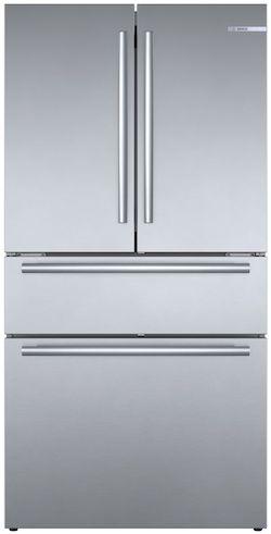 Bosch B36CL80SNS Four Door French Door Refrigerator