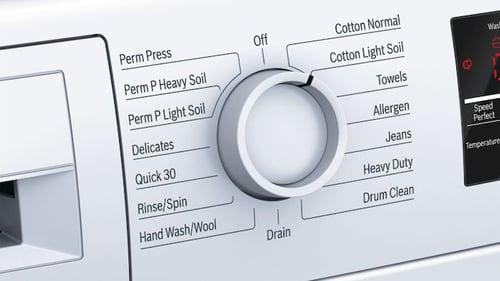 Compact Washers_Bosch WAT28400UC Control Panel