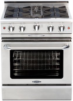 Capital MCOR304L Professional Gas Range from BE website