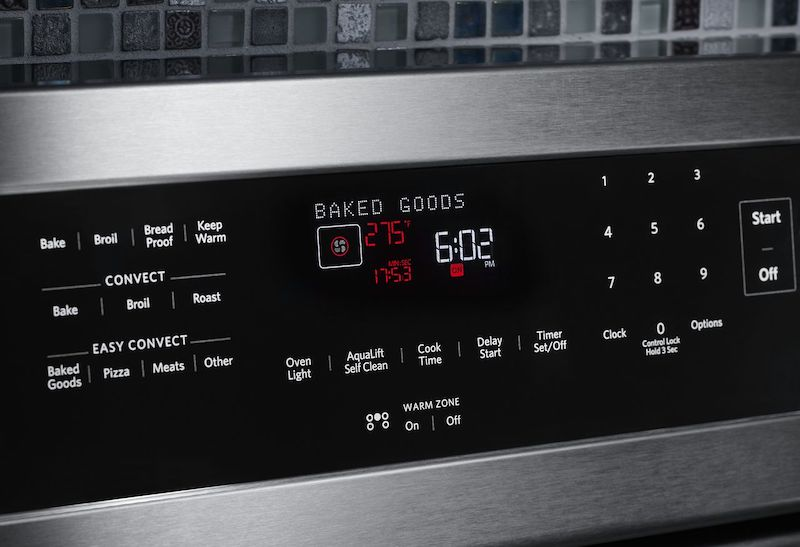 Convection Quick Settings Control Panel - KitchenAid KFEG500ESS