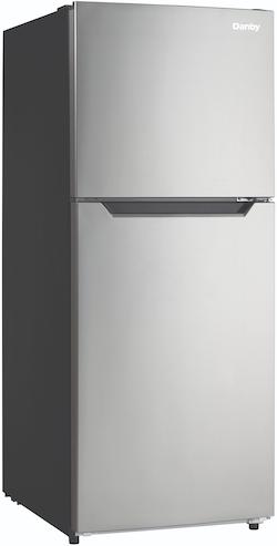 Danby DFF101B1BSLDB Compact Top Freezer Refrigerator