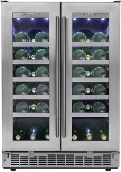 Danby Silhouette DWC047D1BSSPR Wine Refrigerator