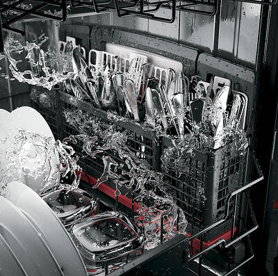 Dishwasher Decibel Levels_Interior Water Jets_GE Cafe CDT835SMJDS