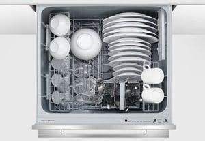 Fisher Paykel Drawer Dishwasher Reviews_DishDrawer Interior