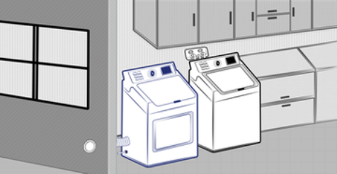 Side Venting Dryer